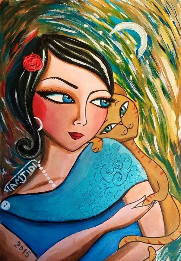 Paintings by Sara Tamjidi