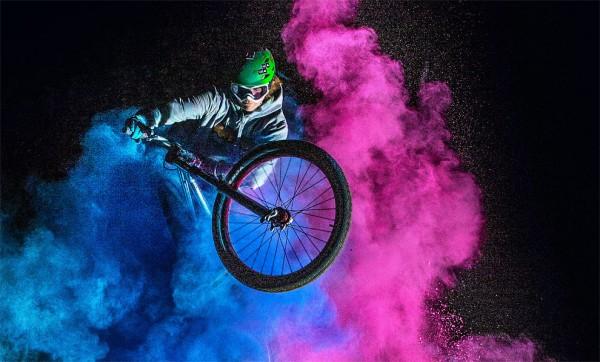 Stunning photos of daredevil bikers performing gravity-defying stunts