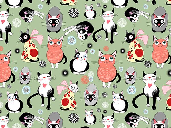 Wallpapers funny cats by Tatiana Korchemkina