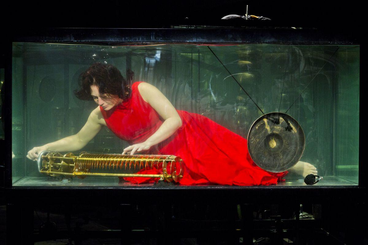 AquaSonic, an amazing underwater music concert