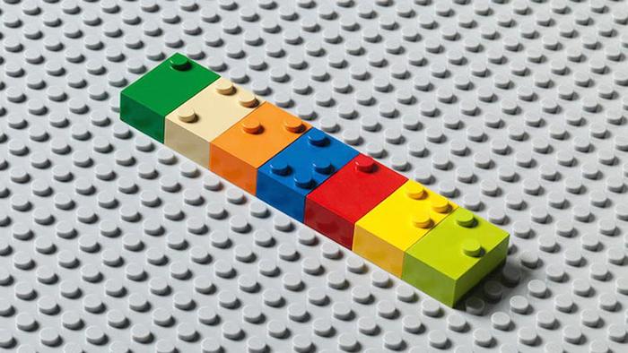 Innovative Braille LEGO-style bricks