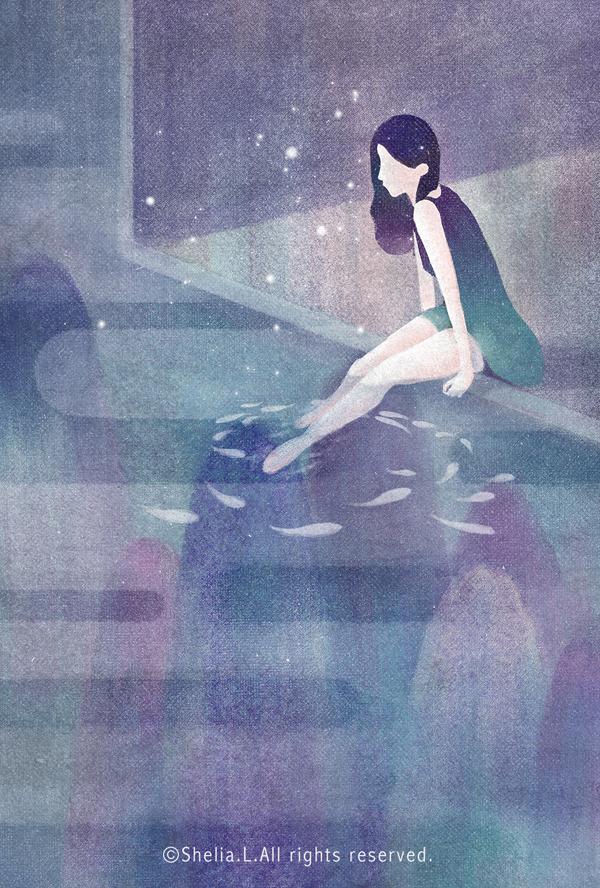 Shelia Liu, illustration