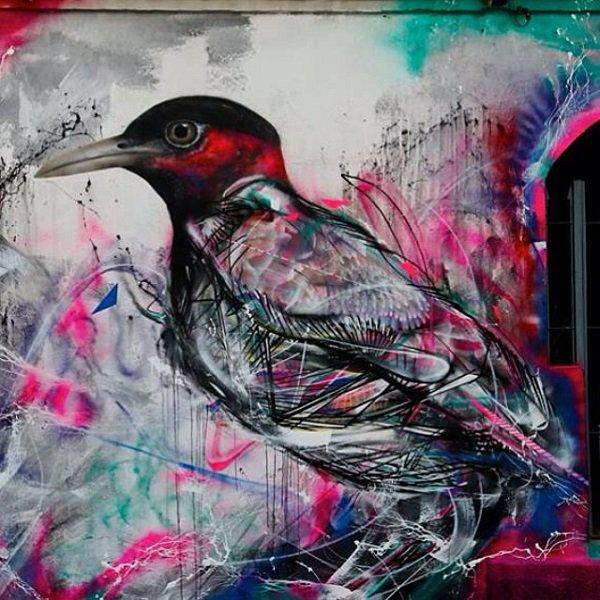 Street art by L7M