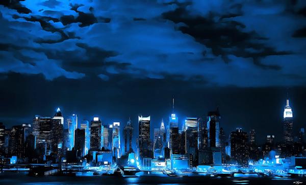 Urban Views, city illustration by William Joynes