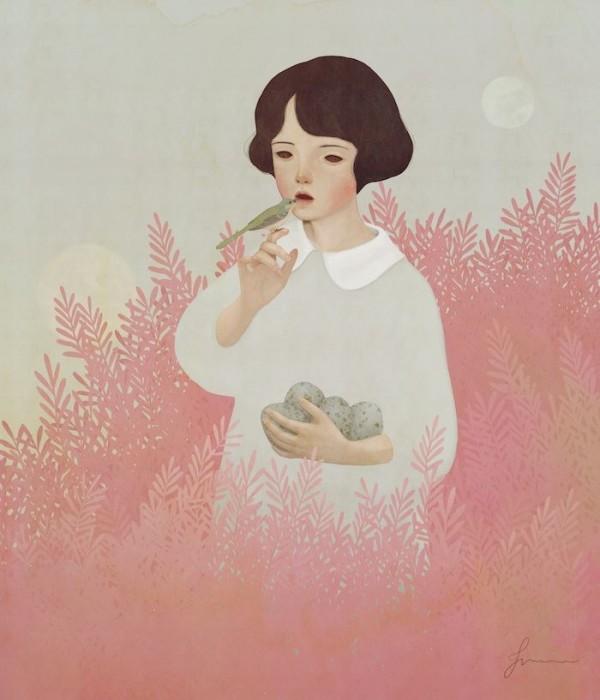 Digital painting by Jiwoon Pak