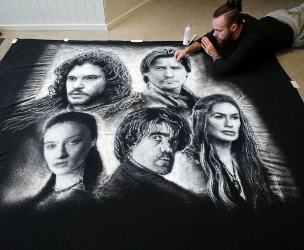 Dino Tomic creates art using only salt