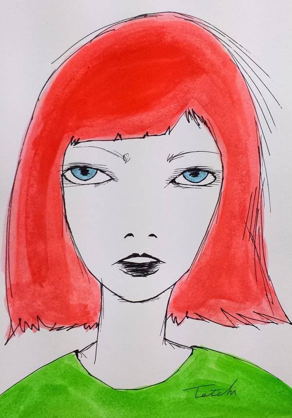 Drawing by Tetsuji Nakada
