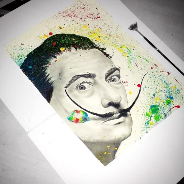 Pencil portraits by Gina Iacob