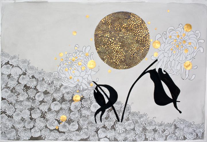Islands of Emotions, paintings by Crystal Liu