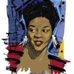 Jazz Divas, illustration by Martin French