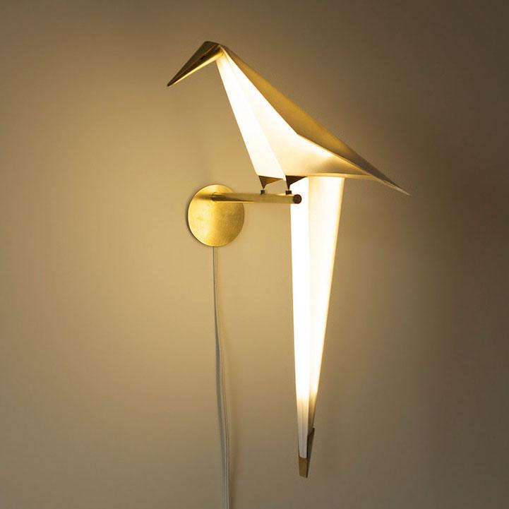 Perch Light, bird sculptures by Umut Yamac