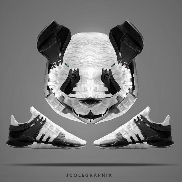 Popular footwear reimagined by JCole