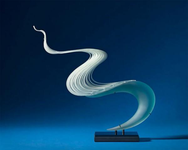 Stunning glass sculptures By K. William LeQuier