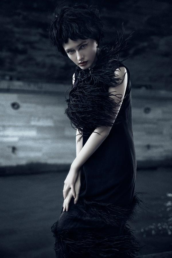 Dark Velvet, fashion photography by Alice Berg