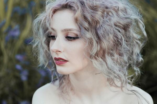 Lavender girl, digital photography by Jovana Rikalo