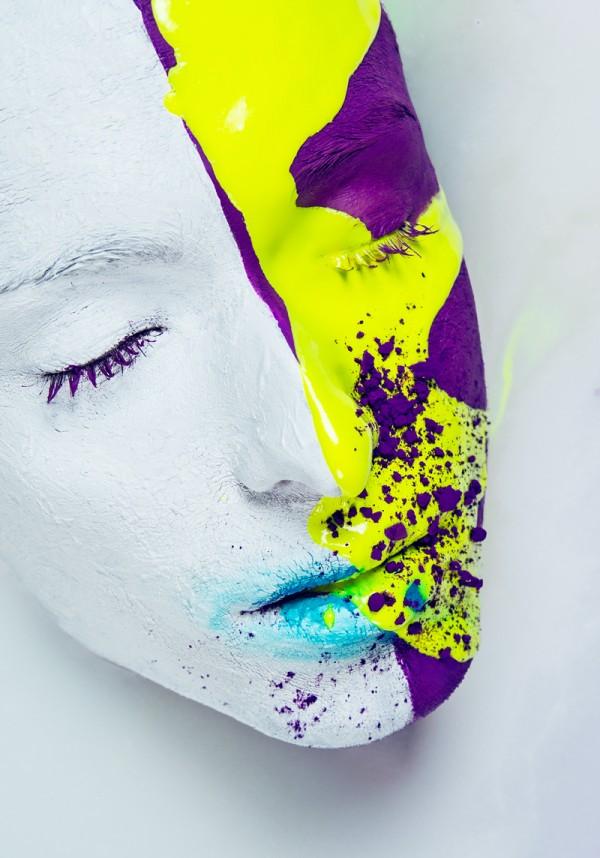 Liquid face, project by Veronica Azaryan