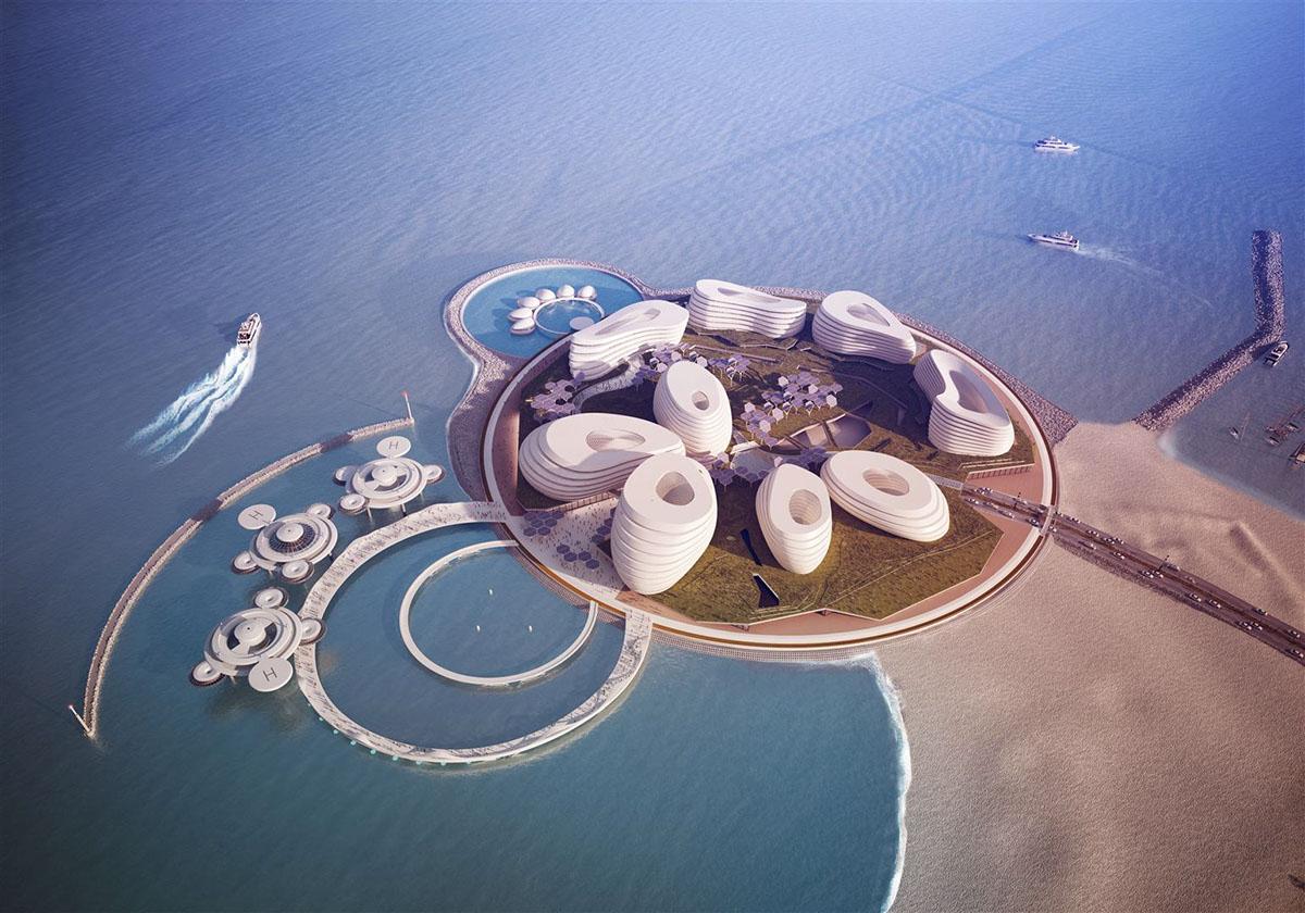 DUBAI BLUE - Concept Design for Dubai EXPO 2020