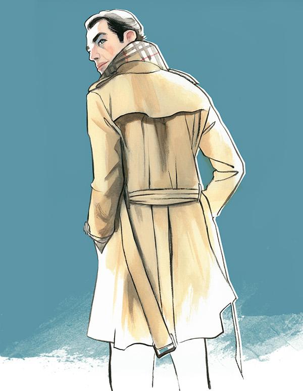 Fashion men, illustration by Fernando Vicente