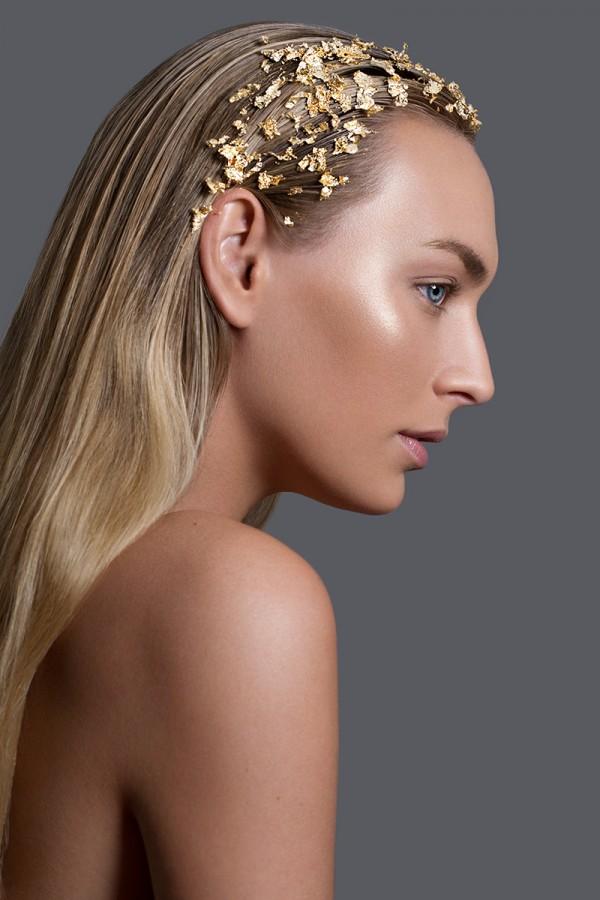 Gold Element, retouching by Natalya Belaya