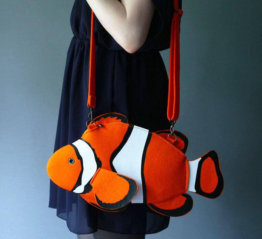Animal Bags made by Max and Lyuba
