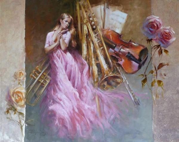 Kostas Rigoulis - Tsigris, paintings