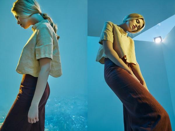 Kristina Arden: Liza, Campaign for young designer Julia Khramtsova