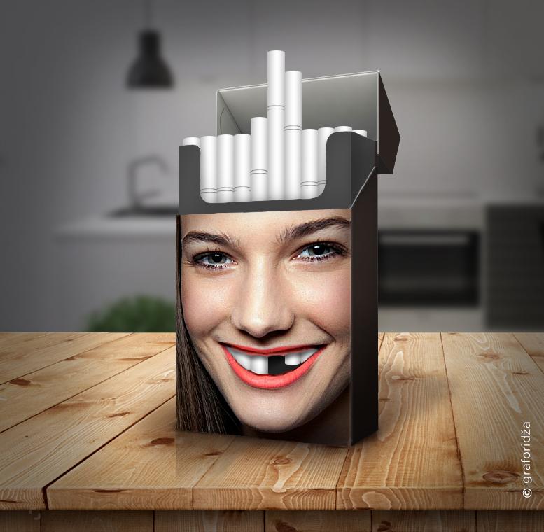 Miroslav Vujovic: Tobacco Teeth, campaign to raise awareness of harmful smoking effects