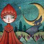 Red riding hood, illustration by Felipe Echeverria