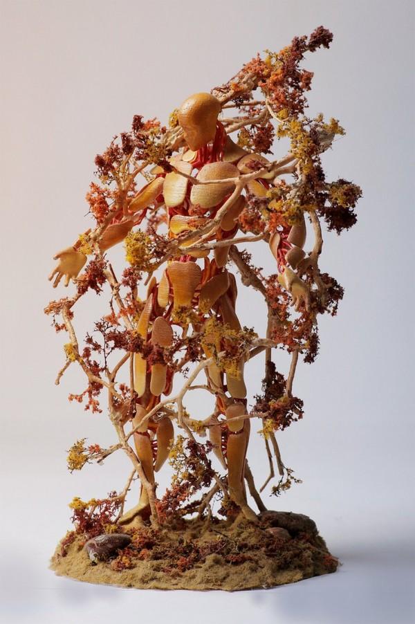Seasons, unique curvy sculptures by Garret Kane