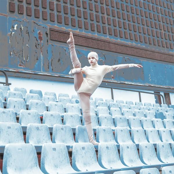 TRiBUNE, photo & art direction by Mária Švarbová