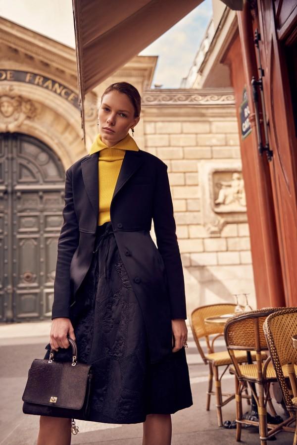 Vicky Drachmann, retouch for ph. Henrik Adamsen for Christian Dior