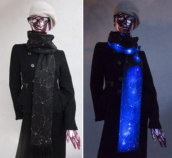 IllumiScarf LED Constellation Scarf