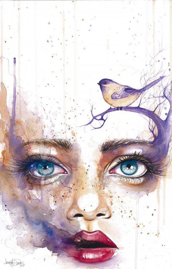 Paintings by Jennifer Sonksen Duran