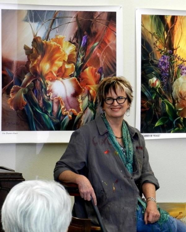 Paintings by Vie Dunn-Harr