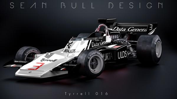 Reverse Retro F1 Liveries, graphic design by Sean Bull