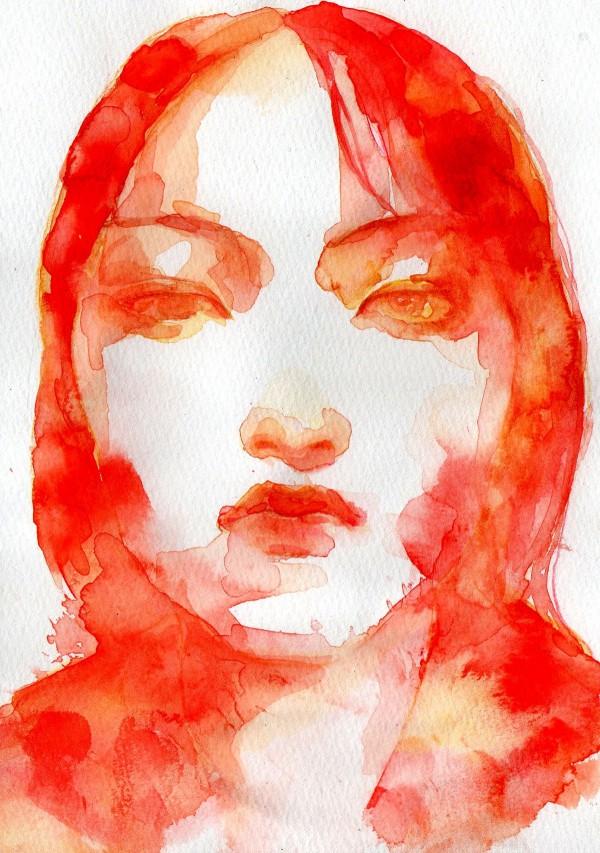 Stranger series, paintings by Byung Jun Ko