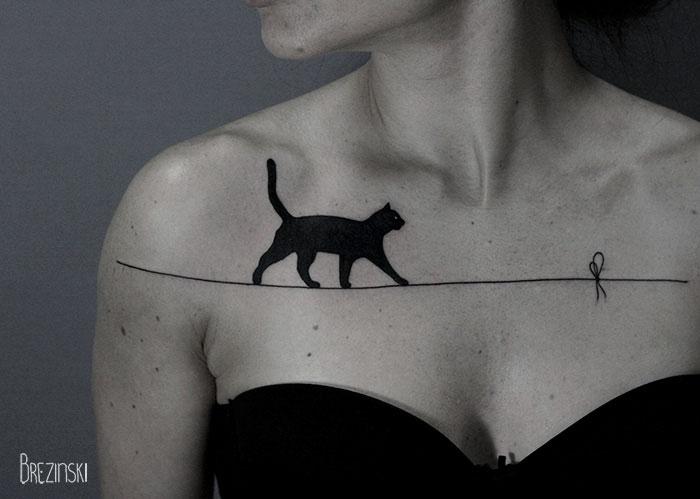 Surreal tattoos by Ilya Brezinski