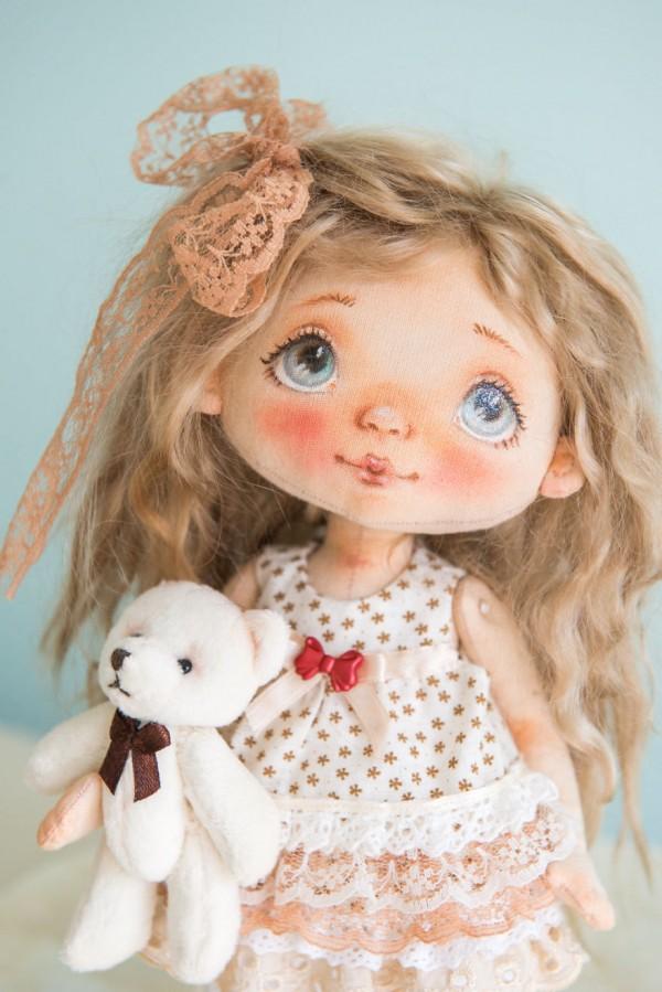 Artistic handmade dolls by Alla Andreeva