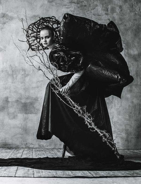 Baba Yaga, photography by Elizaveta Porodina for Toss Magazine