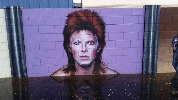 Incredible David Bowie tribute in Phoenix, AZ by Maggie Keane
