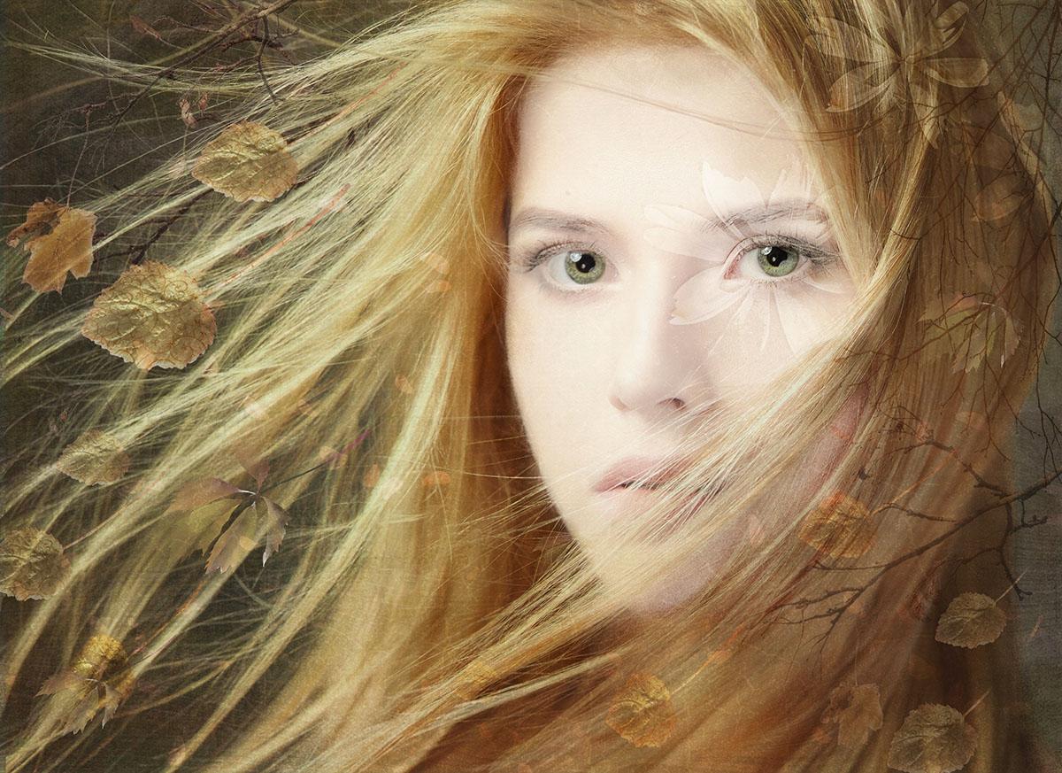Soft delicate beauty, digital art by Cathrine Blan