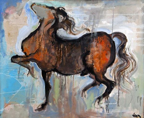 Amanda Lear, paintings
