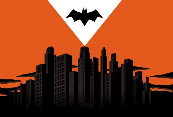 Batman posters by Vincent Roché