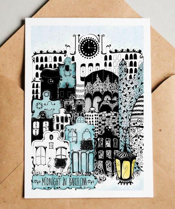 Ink illustrations by Madalina Tantareanu