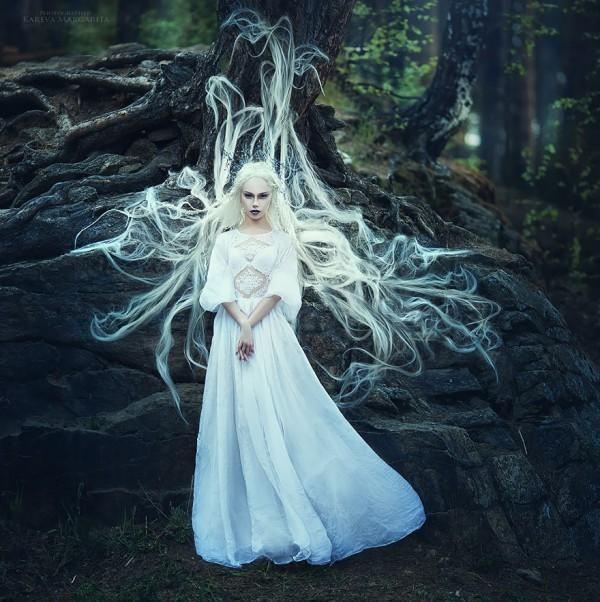 Plein Air, artistic portraits by Margarita Kareva