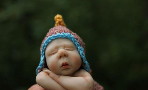 Realistic baby dolls by Elena Kirilenko