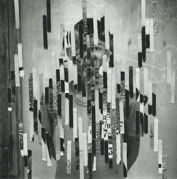Numbers, collages by Ashkan Honarvar