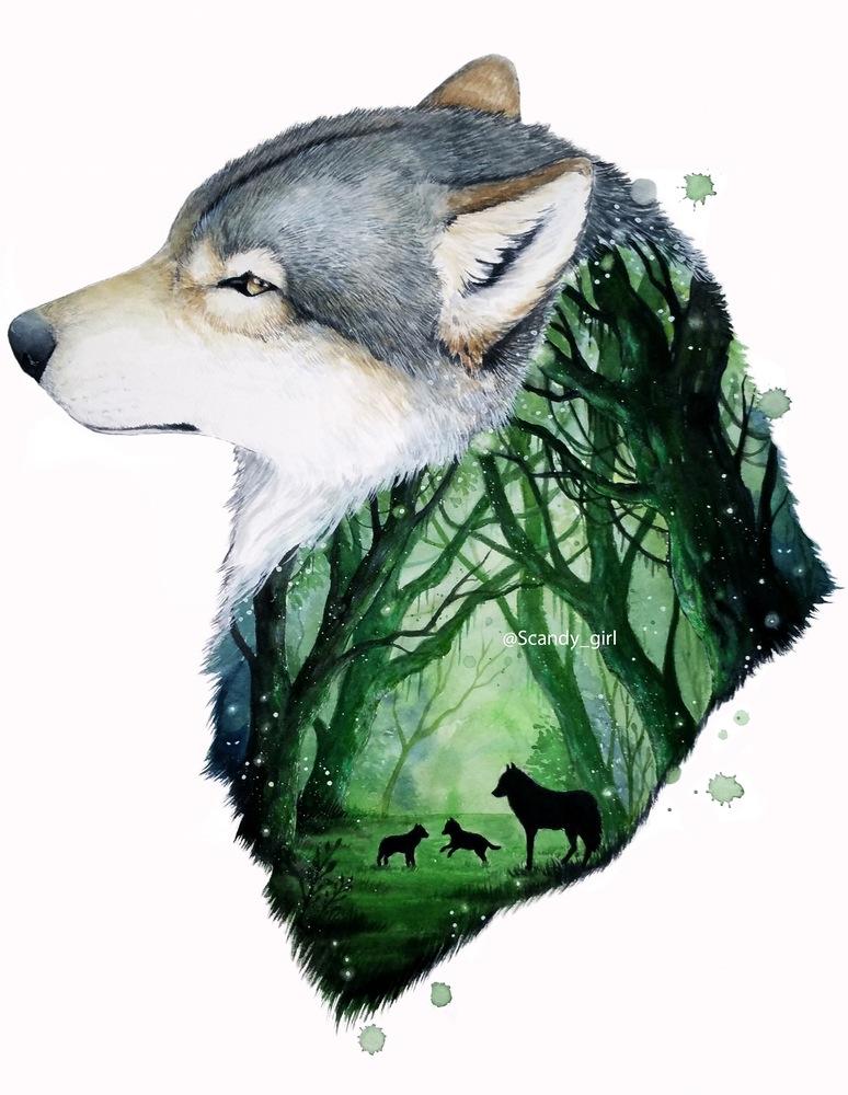 """Jonna Lamminaho: """"I paint the beauty I see in animals"""""""