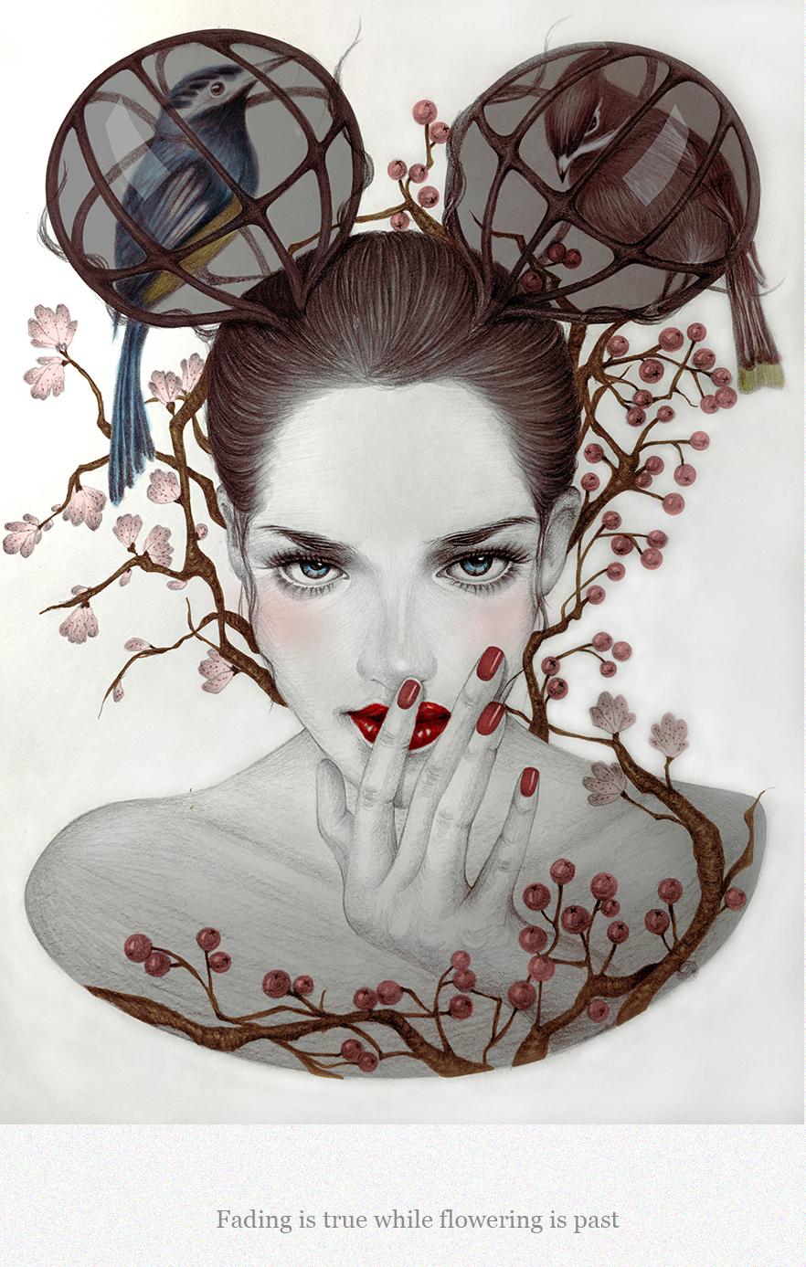 Xiao Hui, illustration