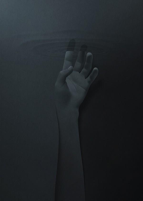 I found my silence, paper cut illustration by Eiko Ojala